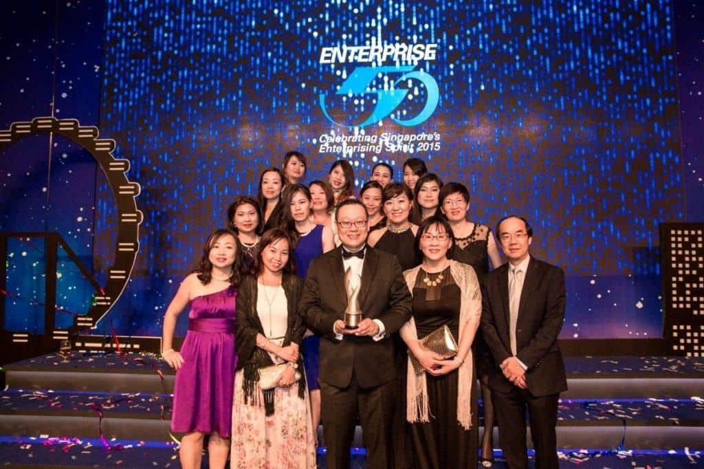 Singapore Enterprise 50 Award 2015
