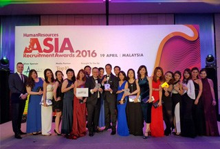 EPS Malaysia has bagged 4 awards at the Asia Recruitment Awards