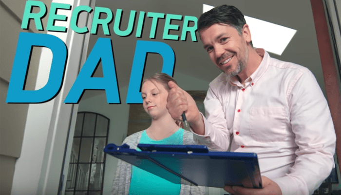LinkedIn's 'Recruiter Dad' Is the Recruiting Parody You Didn't Know You Needed