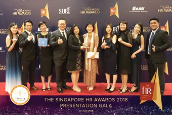 EPS Gala dinner event: Singapore HR Awards 2018